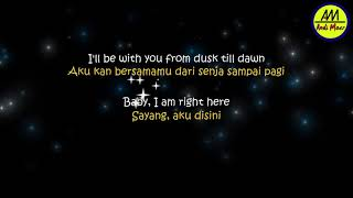 ZAYN – Dusk Till Dawn ft. Sia - Lyrics (Terjemahan Indonesia)