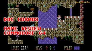 Doc Cosmos (C64) - Reinvigorating the C64 platform genre in 2019
