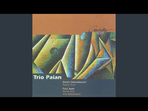 Piano Trio, Op. 17: II. Adagio non troppo