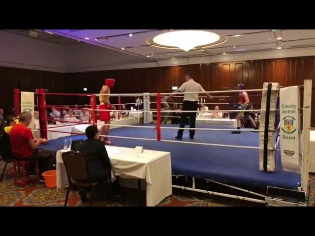 2018 County Antrim Belfast Boxing Classic - Fight 9
