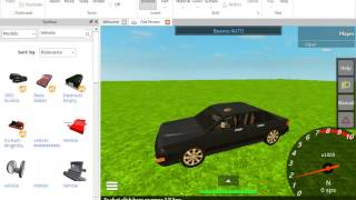 how to use ROBLOX Studio part I