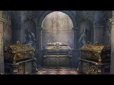 ASMR Mausoleum ~Soft Wind and Creepy Chimes