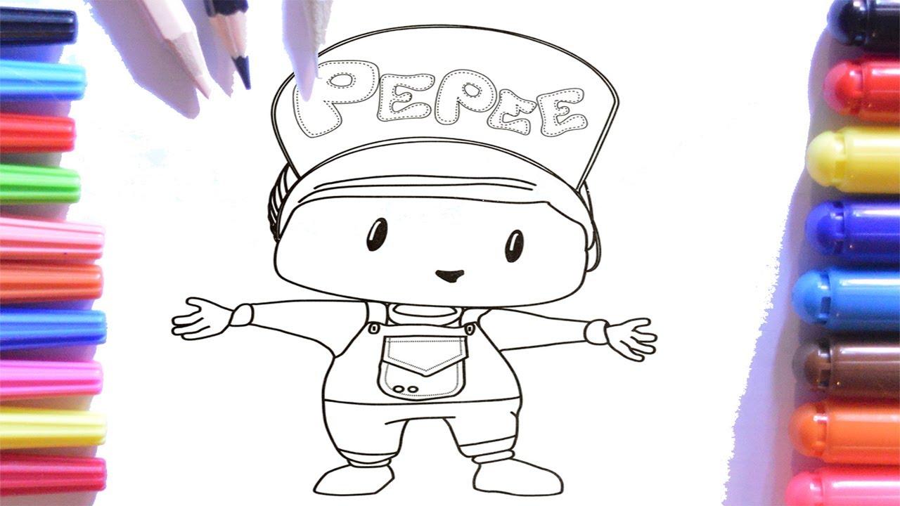 Pepee Boyama Sayfası Keçeli Kalem Pepee Boyama çocuklar Için Youtube