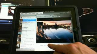Air Video - My Favorite new iPad iPhone app - Best way to stream DivX video How to Demo