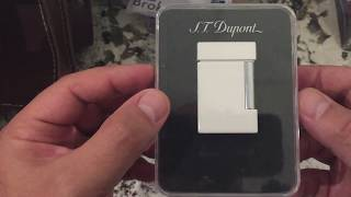 S.T Dupont Ligne 8 unboxing ( well kind of )