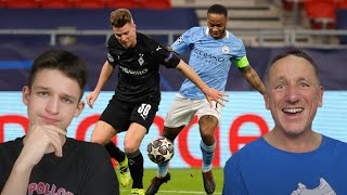 GLADBACH 0-2 MAN CITY HIGHLIGHTS REACTION - Champions League