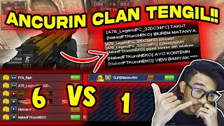 1 vs 6 ORANG!! MENANG / KALAH LANGSUNG UPLOAD!! // Gameplay Point Blank Zepetto Indonesia