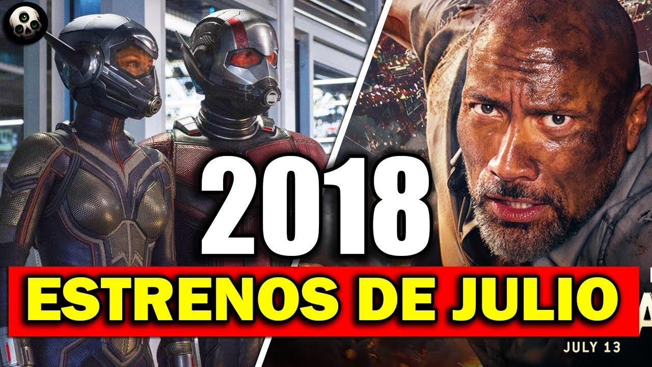 Los mejores estrenos de pel culas en julio 2018 youtube for M estrenos