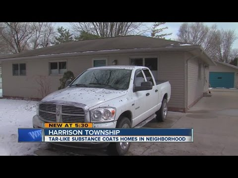 Mysterious Substance Coats Homes In Harrison Township