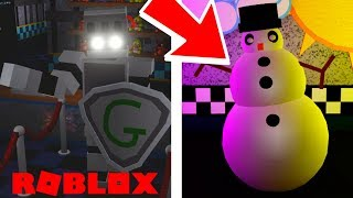 Gallant Gaming Animatronic Badge and Christmas Event in Roblox Fazbear and Friends Pizzeria Roleplay