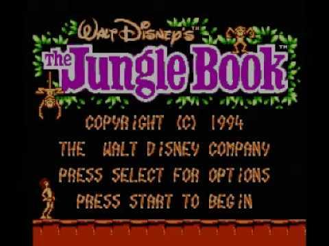 Disney's Jungle Book (NES) Music - Title Theme