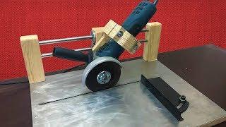 Angle Grinder Sliding Cutting Jig // Kızaklı Avuç Taşlama Standı
