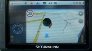 Навигатор Shturmann Link 300(Демонстрация внешнего вида навигатора Link 300 и интерфейса фирменной навигационной программы SHTURMANN., 2010-04-28T15:24:42.000Z)