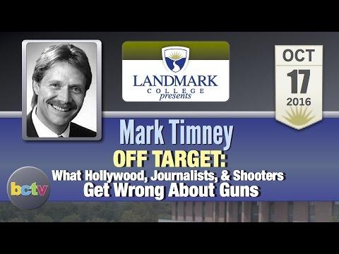 Landmark College presents: Mark Timney, 'Off Target' 10/17/16