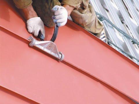 Особенности металлической крыши