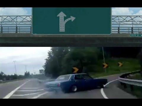 Carro Que Derrapa A La Derecha Origen Del Meme Youtube