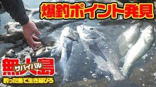 【無人島2泊3日】釣った魚で生き延びろ‼#6