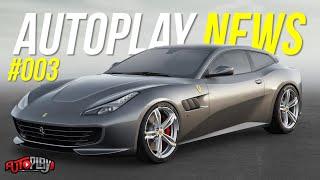 AUTOPLAY NEWS #003 - Ferrari GTC4 Lusso, Hyundai I10, Chevrolet Tracker, Novo Uno, Chevrolet Corsa
