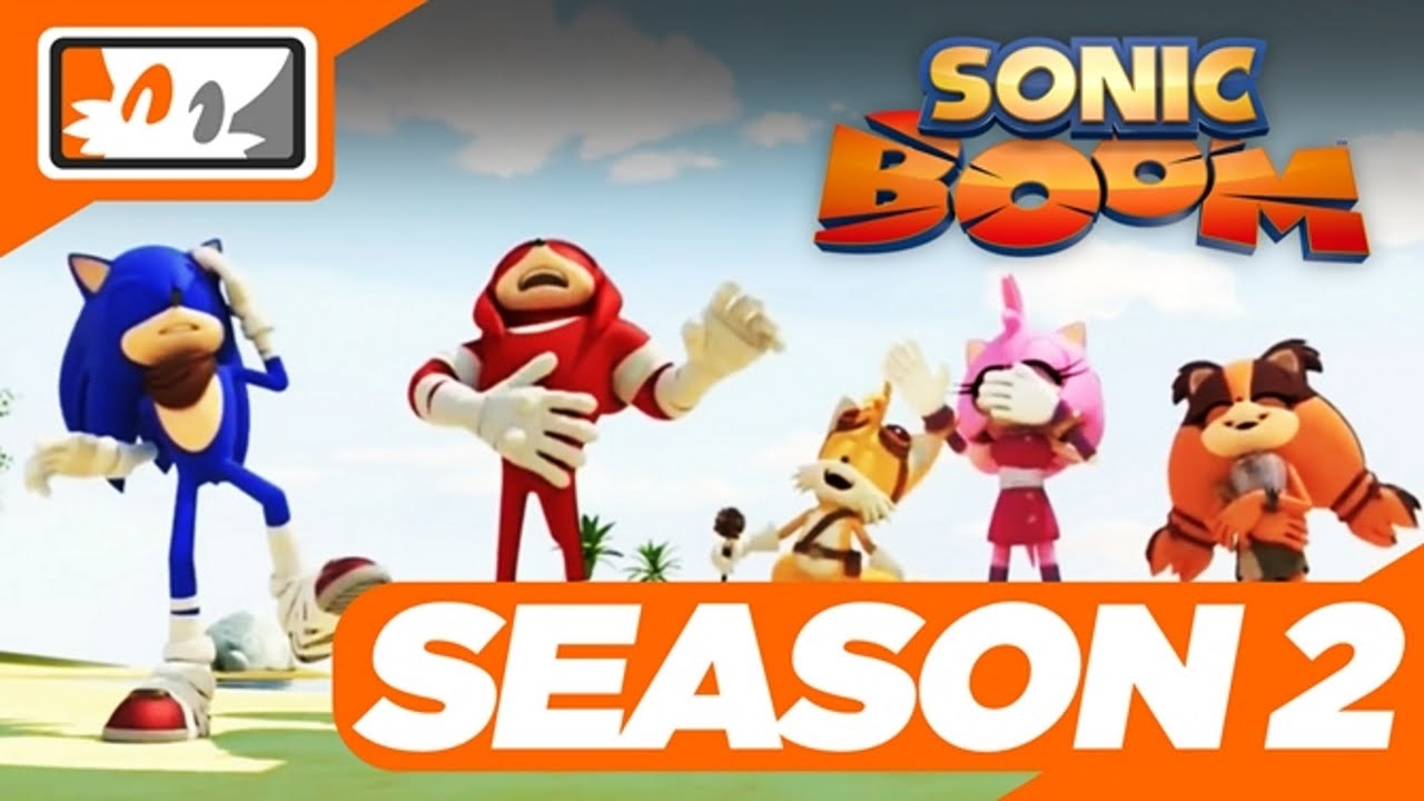 Sonic Boom (TV Show) Season 2 Officially Confirmed! - YouTube