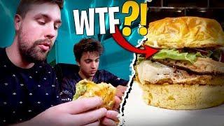 Catastrophe pour Inoxtag !! Je tente le Burger Veggie de chez Upper Burger...