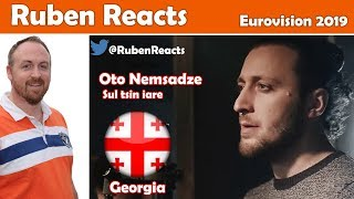 Oto Nemsadze - Keep On Going - Georgia 🇬🇪 - Eurovision 2019 - Reaction
