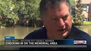 Memorial area in west Houston still underwater