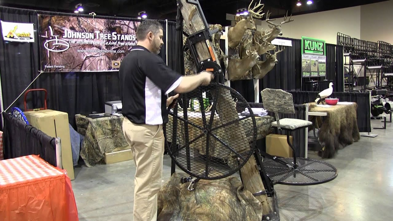 Johnson 360 Tree Stand Youtube