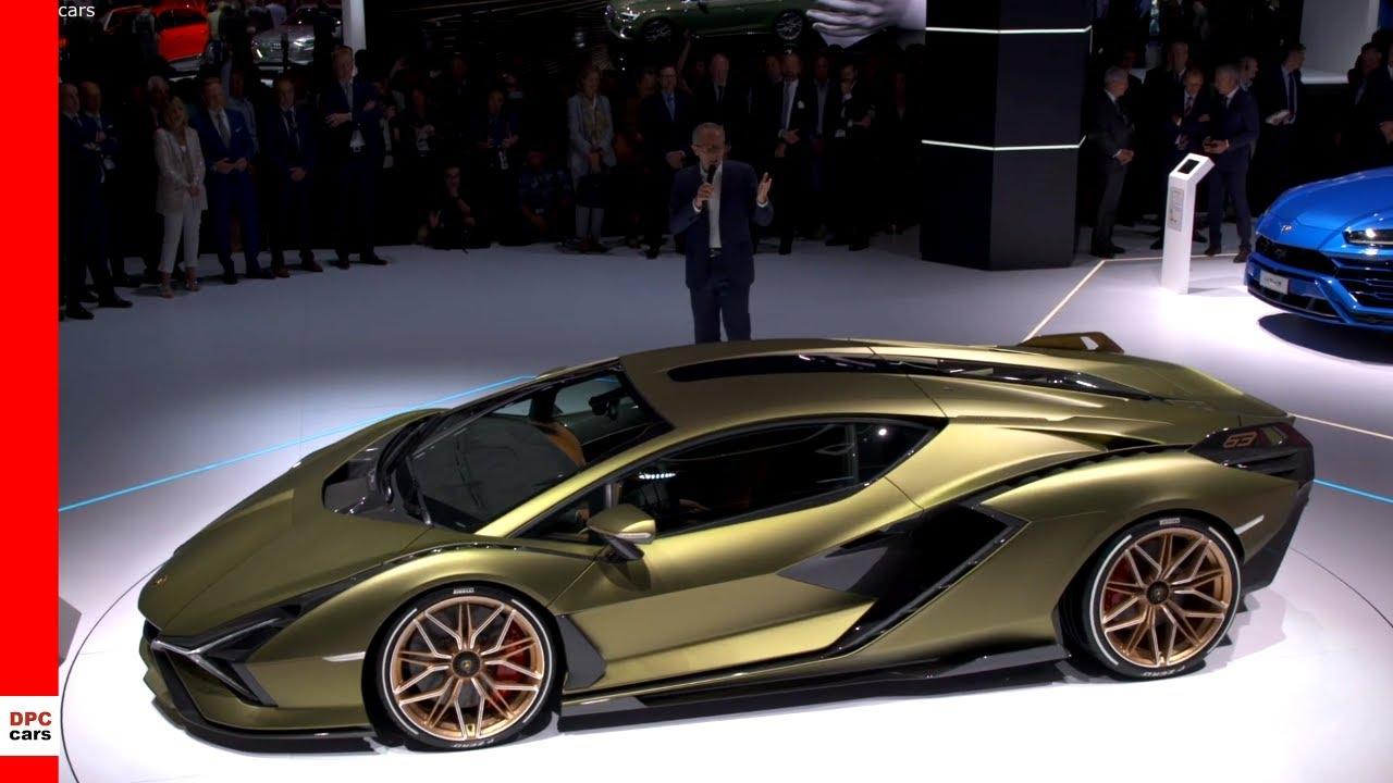 Lamborghini Sian FKP 37 Unveiling