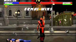 Ultimate Mortal Kombat 3 - Ermac Arcade Very Hard - SZ Valdes