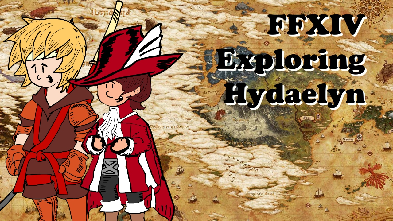 FFXIV Stormblood Exploring Hydaelyn a look at the new World Map with info  from the Lore Book