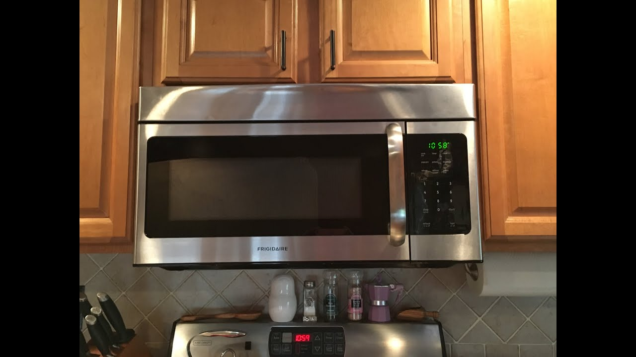 how to stop frigidaire microwave ffmv164ss from beeping