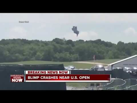 Thumbnail: Blimp Company President reacts to crash at U.S Open Golf Tournament