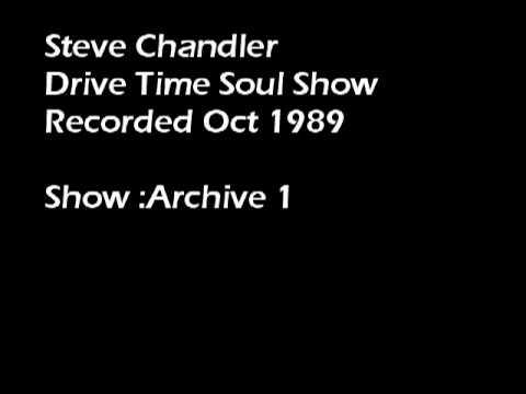 Radio Invicta DJ Steve Chandler -  1989 Drive Time Soul Show archive 1