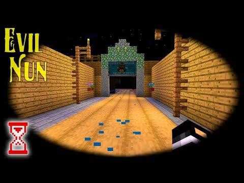 Обновление #38 Новые текстуры и работающая маска | Minecraft Evil Nun