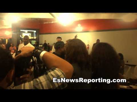 floyd mayweather got dance moves gets down at watson charity event EsNews