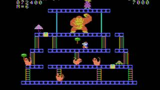 Donkey Kong Super Game Review Coleco Adam