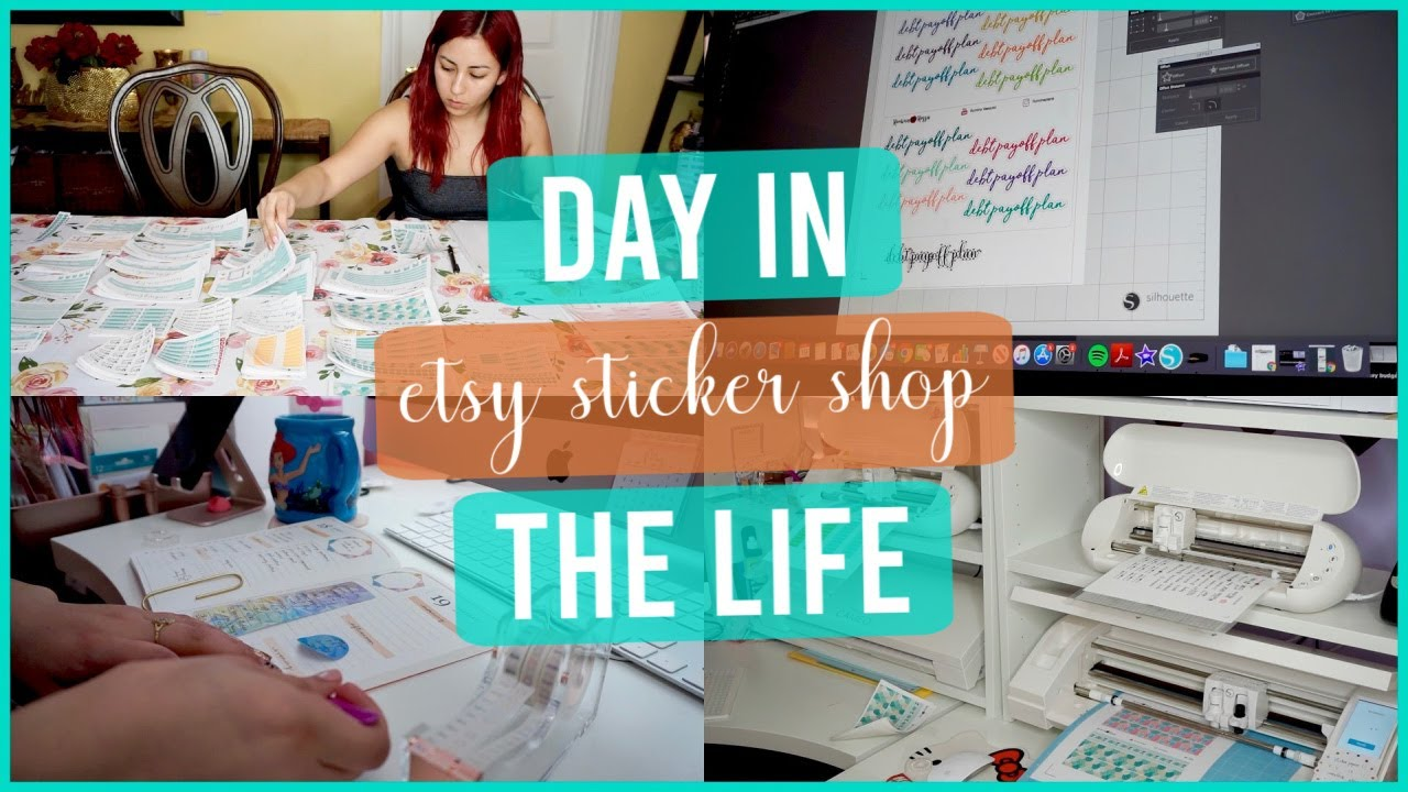 Day in the Life of an Etsy Shop Owner - RominaRossa