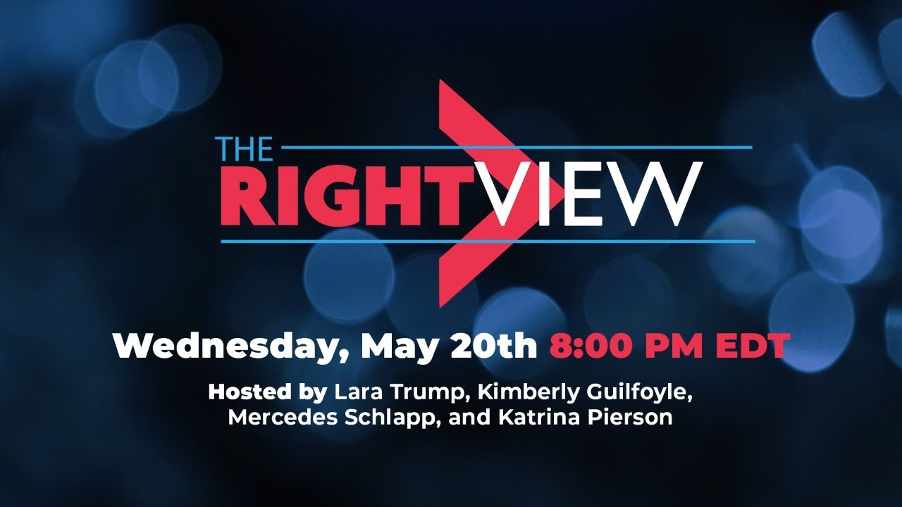 WATCH: The Right View with Lara Trump, Kimberly Guilfoyle, Katrina Pierson, and Mercedes Schlapp!