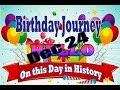 Birthday Journey Dec 24 New