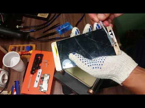 Замена тачскрина на телефоне OUKITEL K6000 и ремонт кнопки громкости