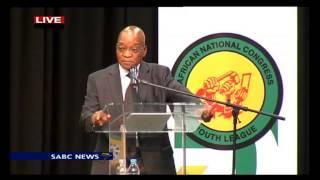 President Jacob Zuma at the ANCYL: 26 November 2014