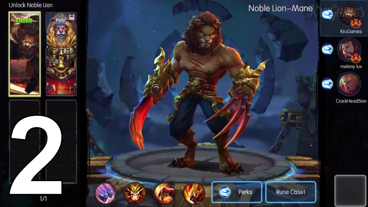 MOBA Legends Kong Skull Island Android Gameplay #2 - YouTube