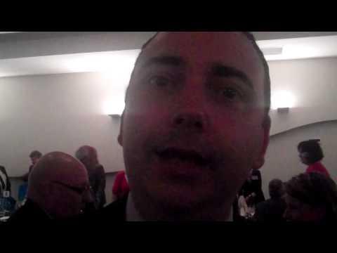 Steve Davis supports Adelaide BECs.MP4