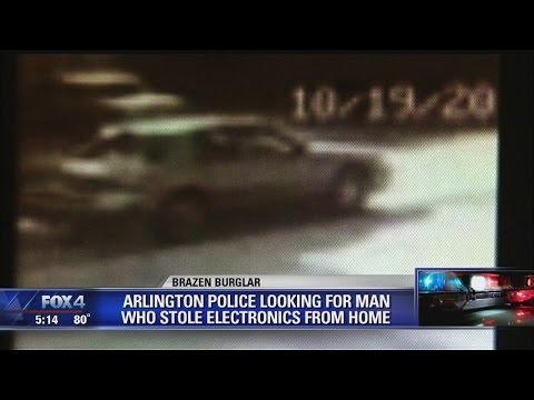 Arlington daytime burglary