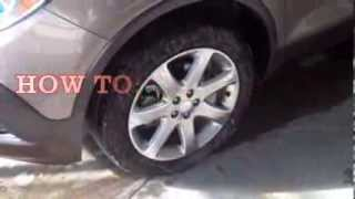 How To: Change A Flat Tire