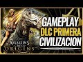 Assassin's Creed Origins | GAMEPLAY DLC Pack PRIMERA CIVILIZACIÓN | NUEVAS ARMAS y MONTURA
