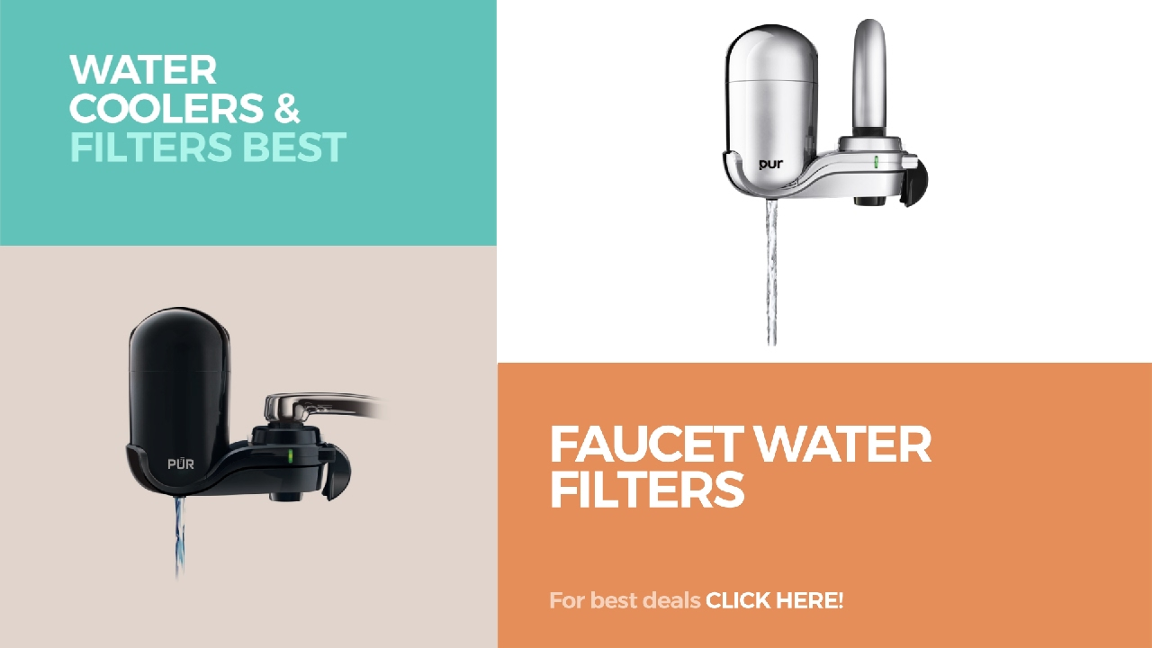 Faucet Water Filters // Water Coolers & Filters Best Sellers - YouTube