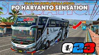 Rillis sound srigala special HR SENSATION terbaru   BUSSID 3.6.1