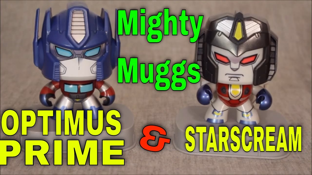 Mighty Muggs Optimus Prime and Starscream Review By GotBot