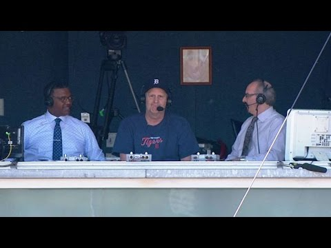DET@NYY: Actor Jeff Daniels joins Tigers booth